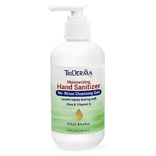 TriDerma® Moisturizing Hand Sanitizer, 8 oz