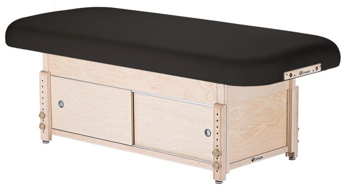 EarthLite Sedona™ Flat Top Table with Cabinet