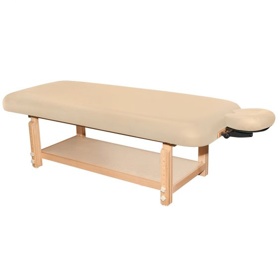 If you provide all the table details, we can reach out to Oakworks to get the part# and cost.