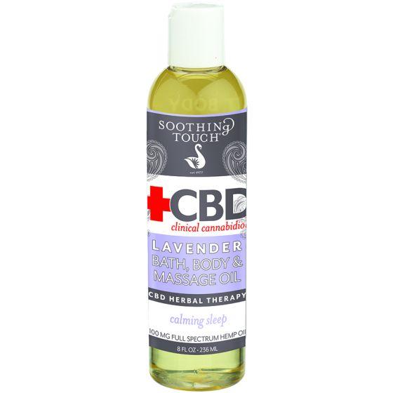 Soothing Touch® CBD Clinical Cannabidiol™ Bath, Body & Massage Oil