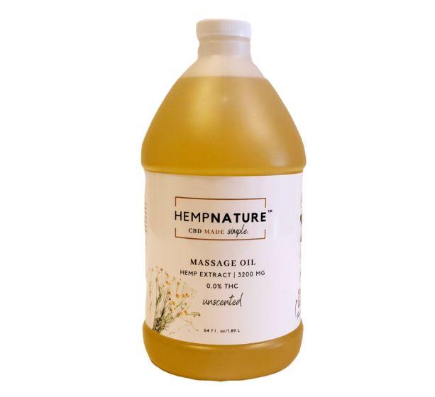 HempNature® Massage Oil