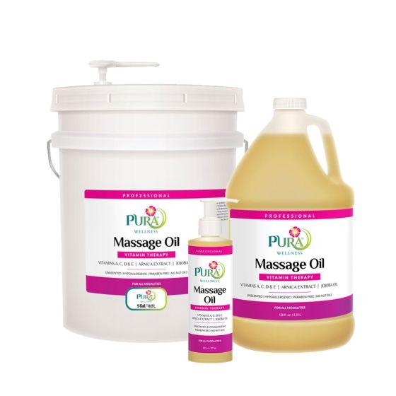 Pura Wellness™ Vitamin Therapy Massage Oil
