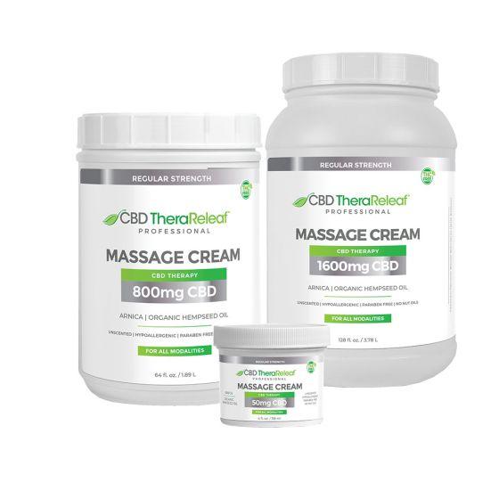 CBD TheraReleaf™ Professional Massage Cream Regular Strength