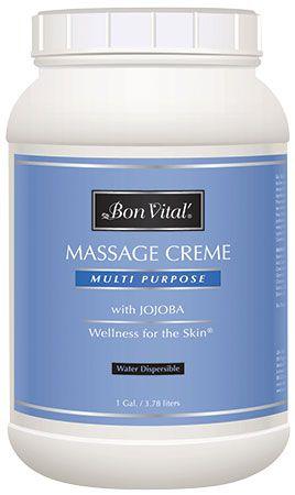 Bon Vital'® Multi Purpose Massage Crème - Unscented Massage Cream