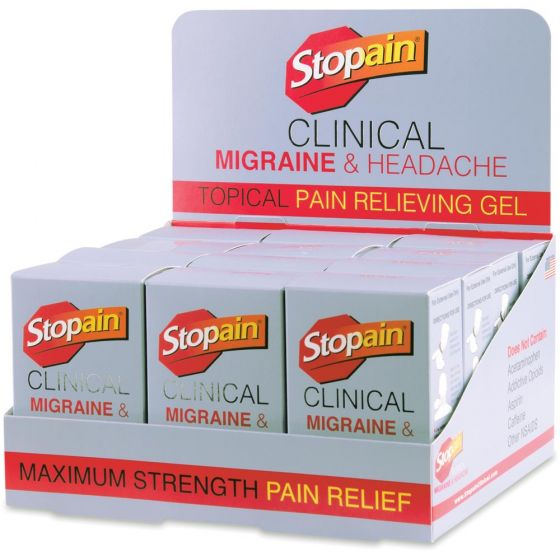 Stopain® Clinical Migraine & Headache Topical Gel