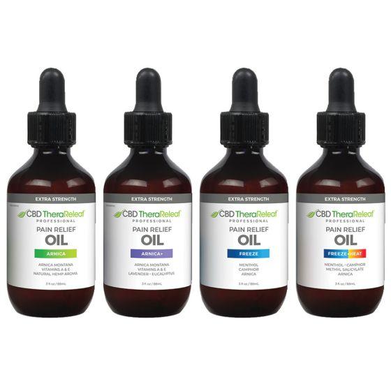 CBD TheraReleaf™ Pain Relief Oil
