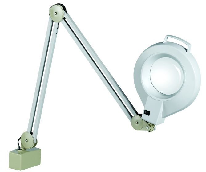 B&S Magnifying Lamp with Adjustable Metal Arm