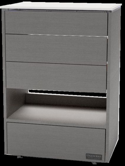 OAKWORKS® Masters Collection Halo Trolley with 4 Drawers