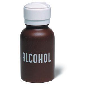 Alcohol Dispenser Plastic Bottle With Swing Lid