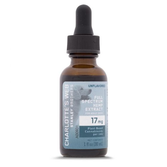 Charlotte's Web™ Hemp Extract for Adult Dogs 17mg