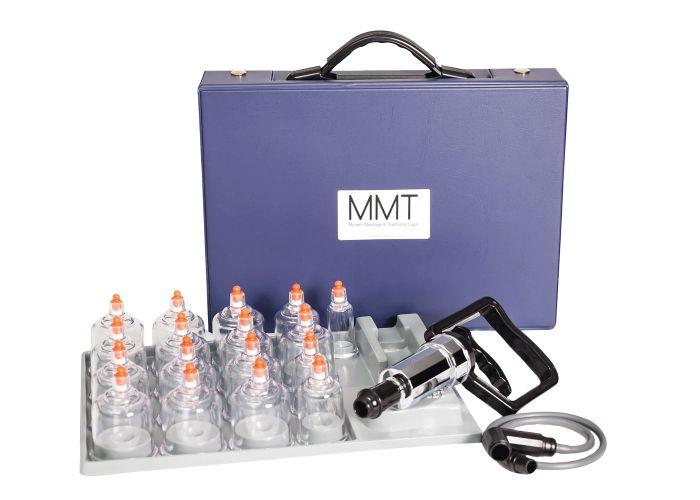 MMT Professional 17 Piece Cupping Set w/ Pump Gun