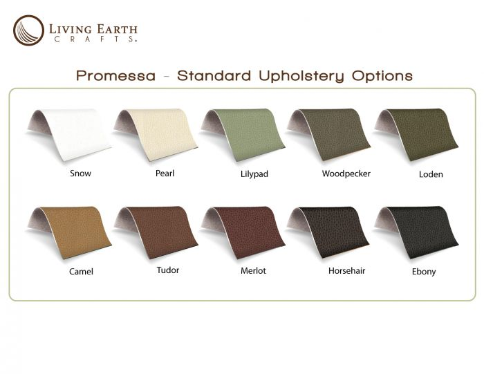 Living Earth Crafts® Ultraleather® or Promessa® Upholstery Upgrade for 5th Avenue and Mystia Pedicur