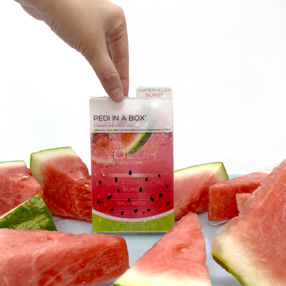 Voesh Pedi In A Box 4 Step Watermelon Burst