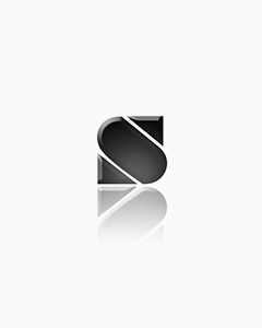 Terry Headband With Velcro White