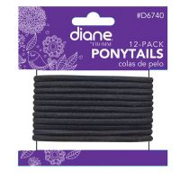 diane® by FROMM Ponytails 12/Pack