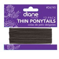 diane® by FROMM Thin Ponytails 12/pack