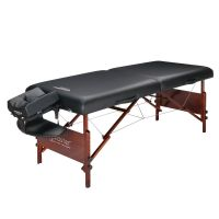 """Master® Massage 30"""" Del Ray™ Portable Massage Table Package Black"""