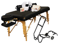 NRG® VedaLux Massage Table with the Works Package