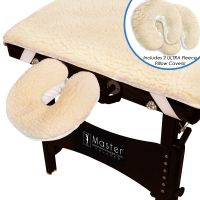 Master® Massage Ultra™ Fleece Table Pad Set