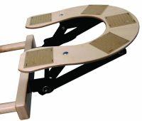 "Custom Craftworks™ 9"" Wooden Deluxe Adjustable Face Cradle Base"