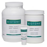 BIOTONE® Herbal Select® Body Therapy Massage Crème