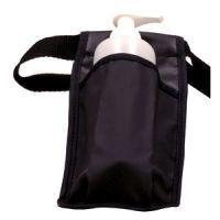 Washable Massage Bottle Holster with Bottle and Pump - Single - Black
