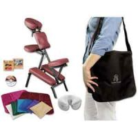 NRG Grasshopper Portable Massage Chair Kit and Upgrade Package