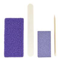 DL Professional 4-Piece Disposable Mini Pedicure Kit