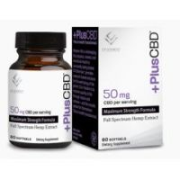 +PlusCBD™ Softgels Maximum Strength Formula
