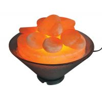 Harmony Salt Poly Carbonate Himalayan Salt Stone Warmer Bowl