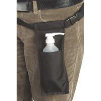 Massage Lotion Bottle Holster & Massage Oil Bottle Holster - Black