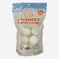 WholeMade EHemp Bath Bombs Lavender Bomb